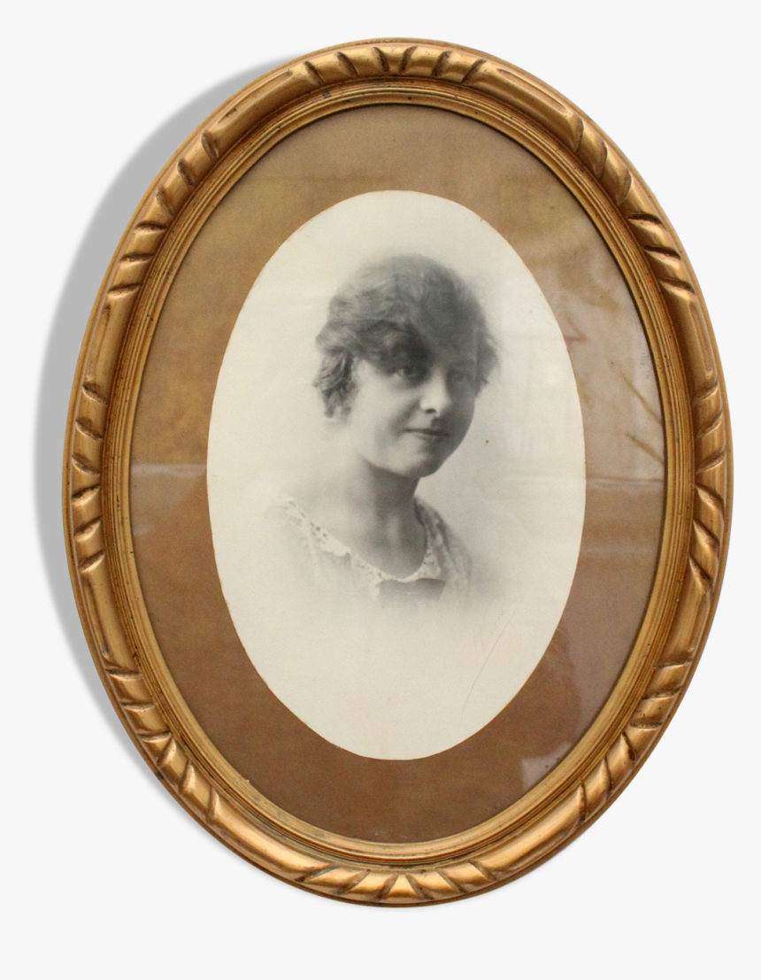 """Old Photograph With Wooden Frame""""  Src=""""https - Circle, HD Png Download, Free Download"""