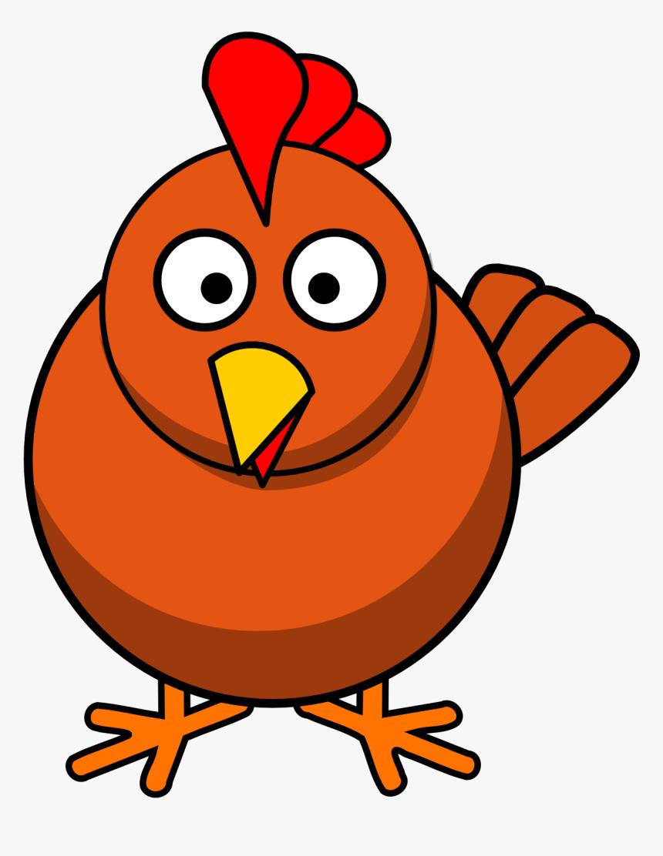 Chicken Clipart, Cute Chicken Clip Art Photo, Chicken - Cartoon Clipart Chicken, HD Png Download, Free Download