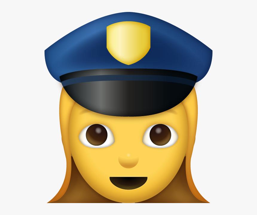 Girl Police Emoji [free Download Ios Emojis] Clipart - Emoji Police, HD Png Download, Free Download