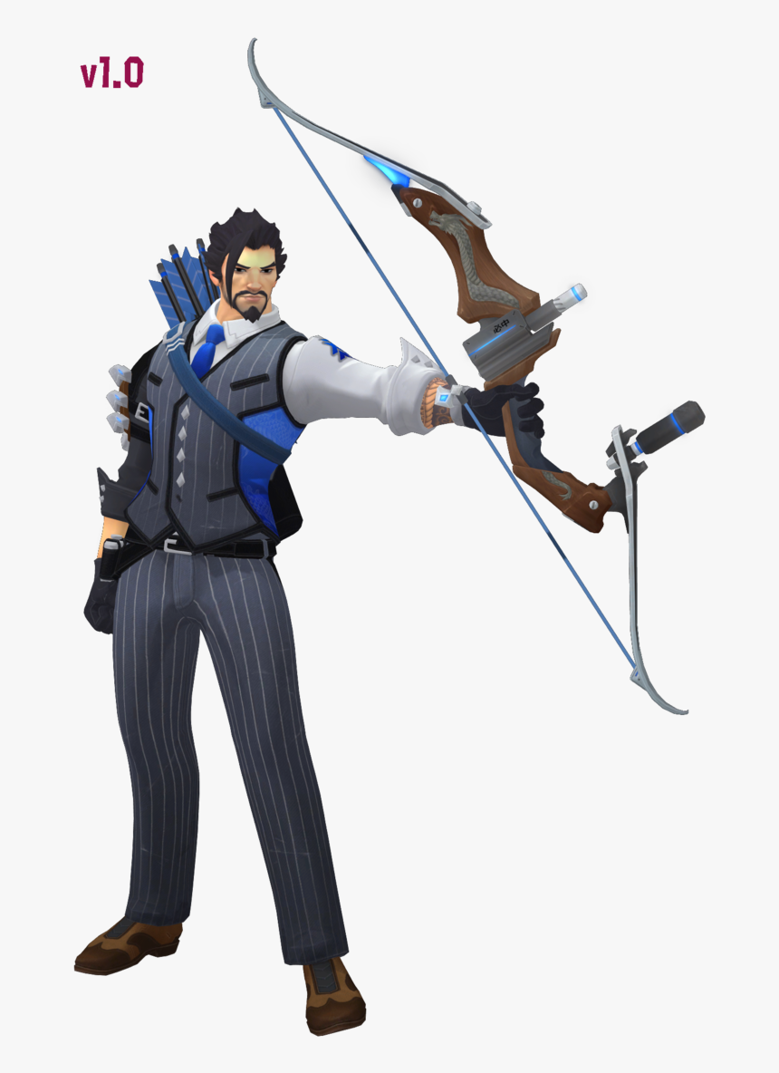 Hanzo Download By Togekisspika35 - Overwatch Hanzo Scion Png, Transparent Png, Free Download