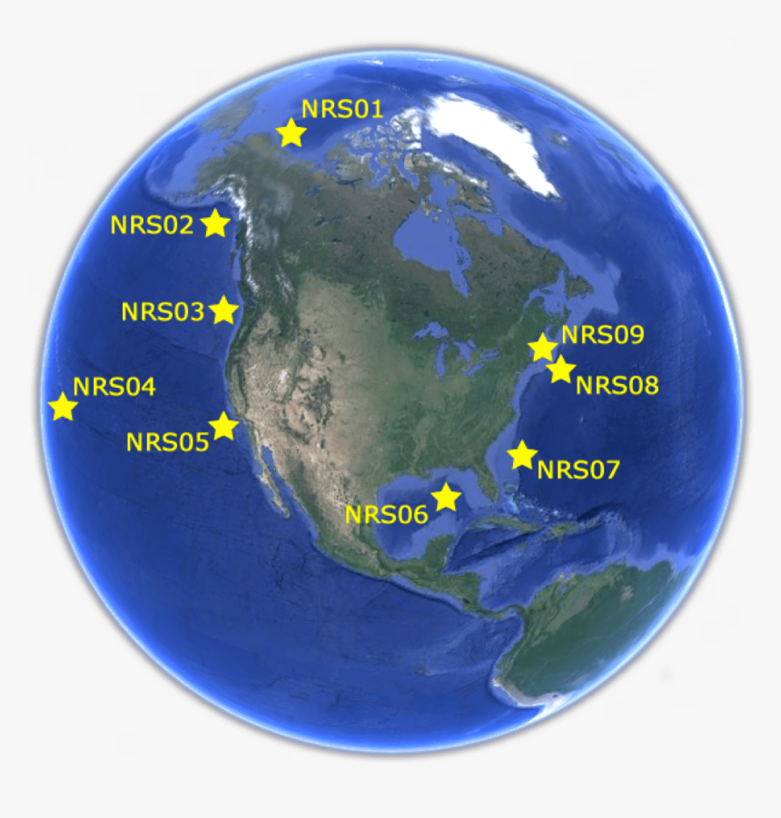 This Is A Map Of The Nrs Deployments Google Earth United States