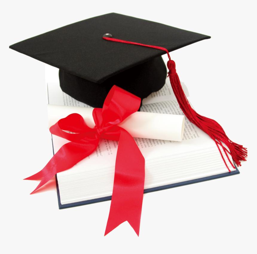 Graduation Cap With Book Png, Transparent Png, Free Download