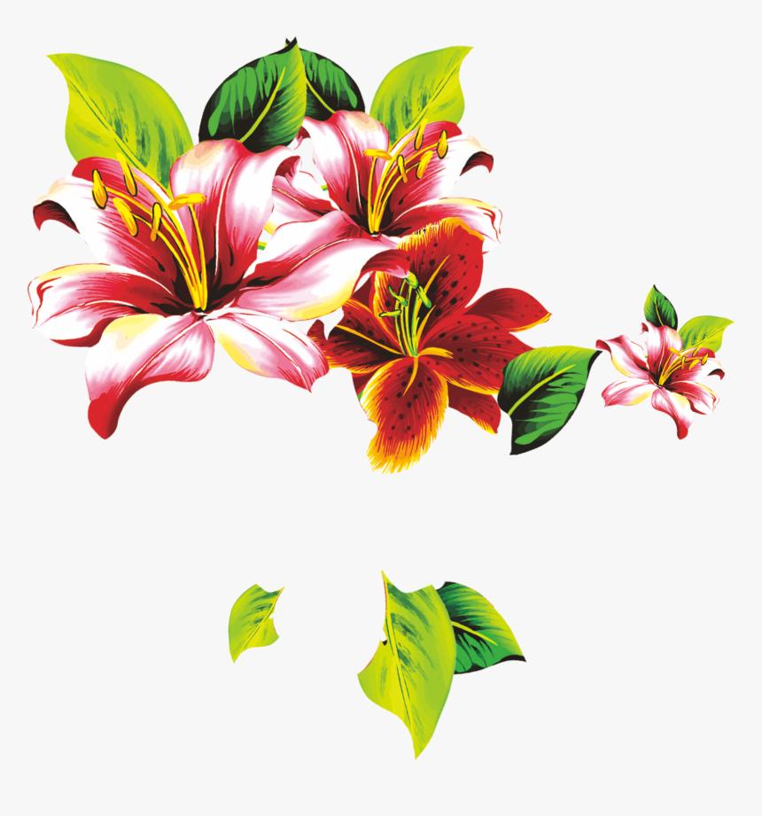 Floral Design Lilium Petal Flower - 矢量 花, HD Png Download, Free Download