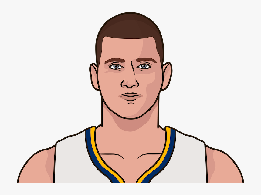 Nikola Jokic Posted 25 Points, 6 Assists And A Nuggets - Cartoon Steph Curry Draw, HD Png Download, Free Download