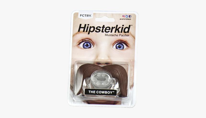 Mustache Pacifier, Mustachifier, The Cowboy, Handlebar - Fctry Mustache Pacifier, HD Png Download, Free Download
