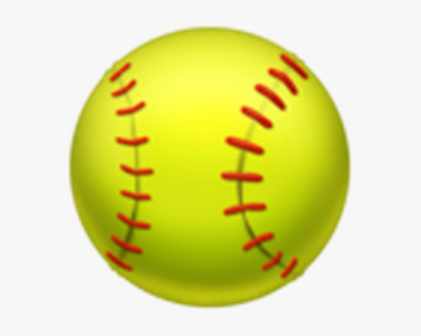 Softball Emoji Copy And Paste - Softball Emoji Png, Transparent Png, Free Download