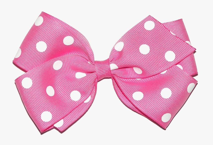 Pink Hair Ribbon Png Clipart , Png Download - Pink Hair Bow Png, Transparent Png, Free Download