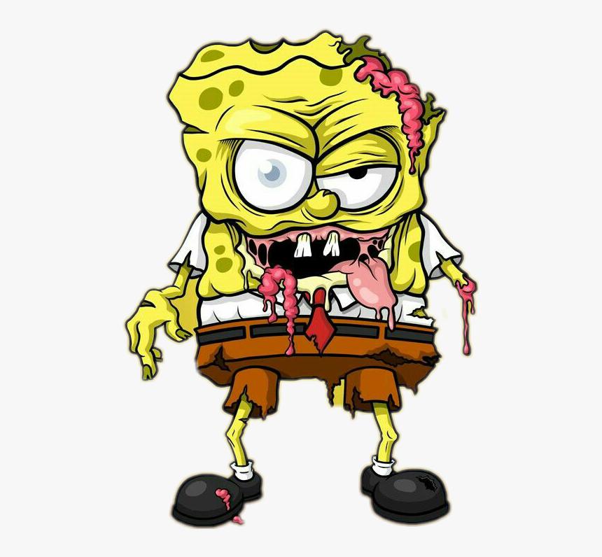 Spongebob Zombie , Png Download - Skrillex Neoprene Lanzix & Bein Remake, Transparent Png, Free Download