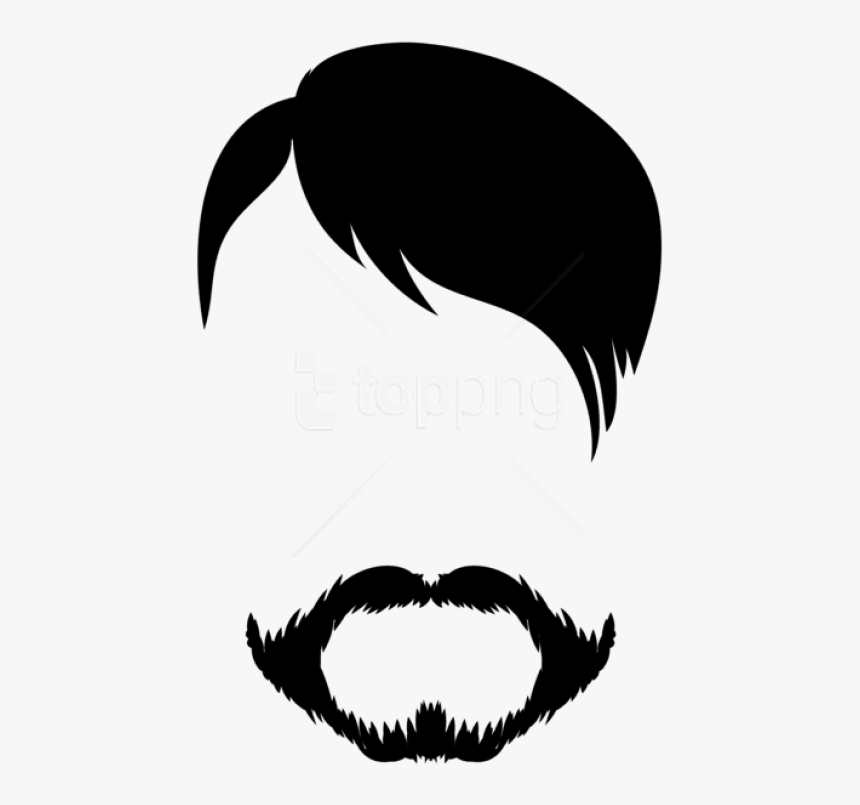 Download Male Hair - Male Hair Clipart, HD Png Download, Free Download