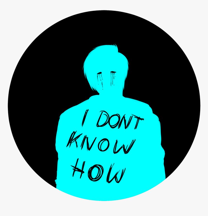 Idkhow Aesthetic Blue, HD Png Download, Free Download
