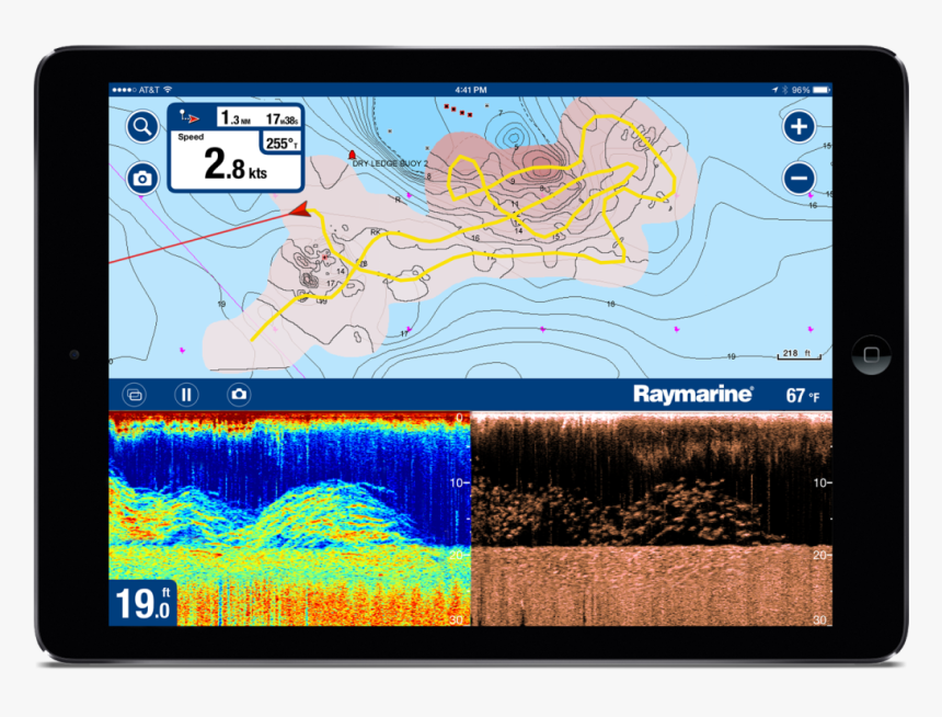 Sonar Charts Is Available On Ios And Android Navionics Sonar Hd Png Download Kindpng