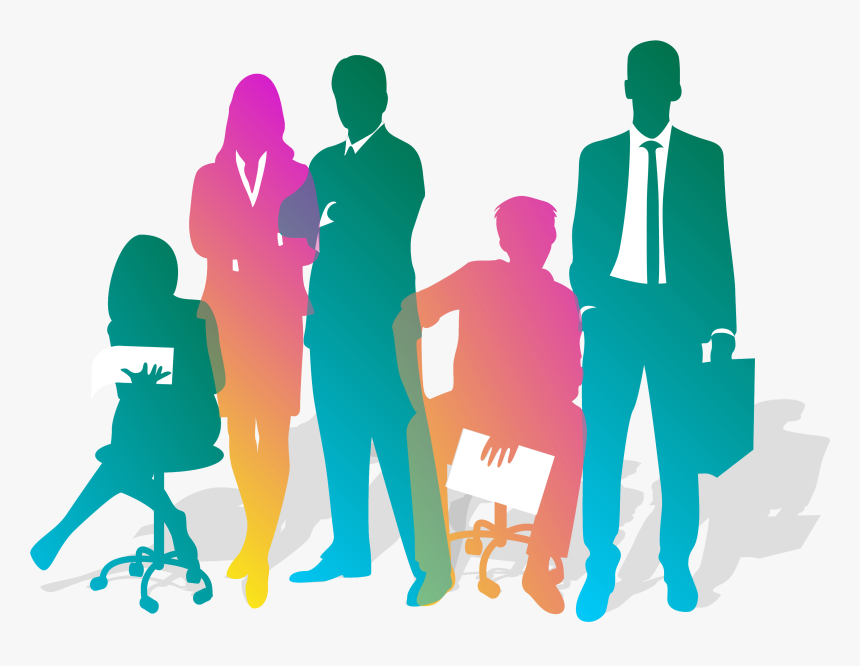 Team Silhouette At Getdrawings - Transparent Background Business People Silhouette Png, Png Download, Free Download