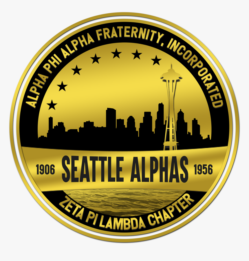 Seattle Alphas Logo W Water - Silhouette, HD Png Download, Free Download