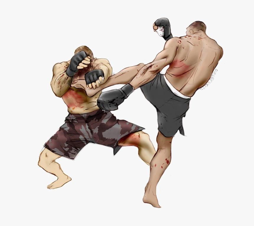 Mixed Martial Arts Png Free Image Mixed Martial Arts Mma Vector Transparent Png Kindpng