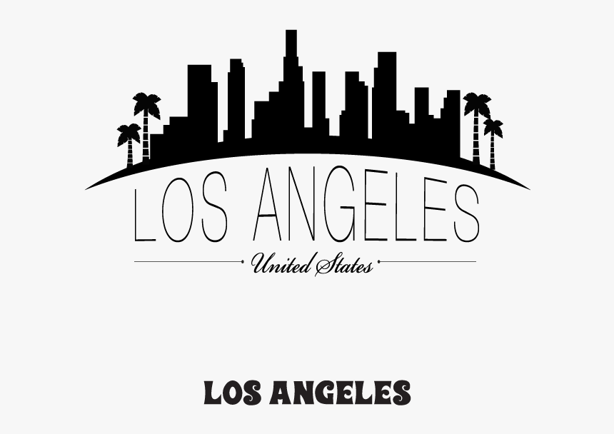 The City Of Los Angeles Has So Many World-famous Sites - Los Angeles City Drawings, HD Png Download, Free Download