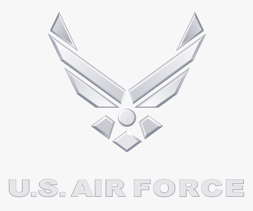 Air Force Logo Silver, HD Png Download, Free Download
