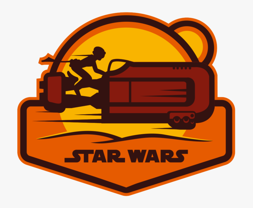 Rey Star Wars Patch, HD Png Download, Free Download