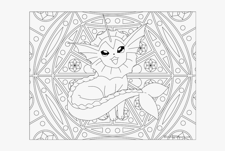 Adult Coloring Pages Pokemon, HD Png Download, Free Download