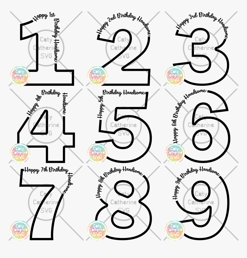 Privacy Policy - Circle - Birthday Number 1 Svg, HD Png Download, Free Download
