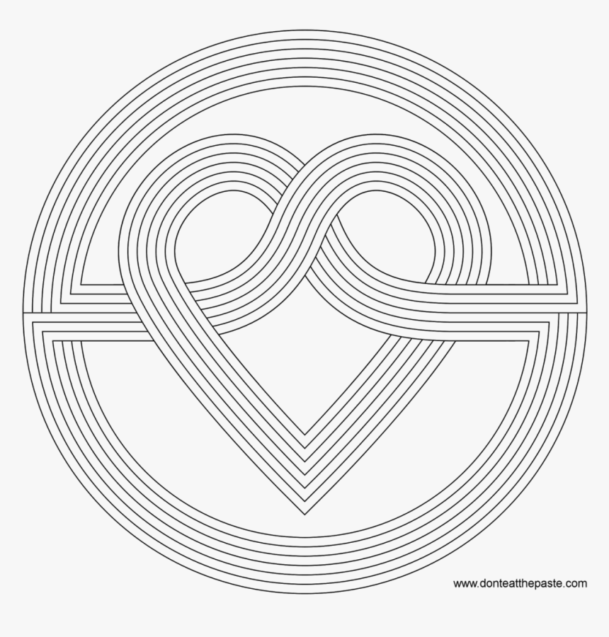 Adult Coloring Pages Patterns Coloring Pages Patterns - Colouring Pages  Patterns Easy, HD Png Download - Kindpng