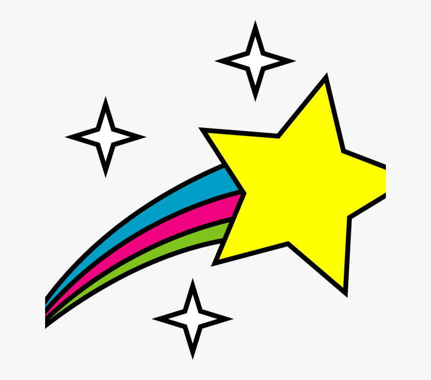 Clip Art Shooting Stars, HD Png Download, Free Download