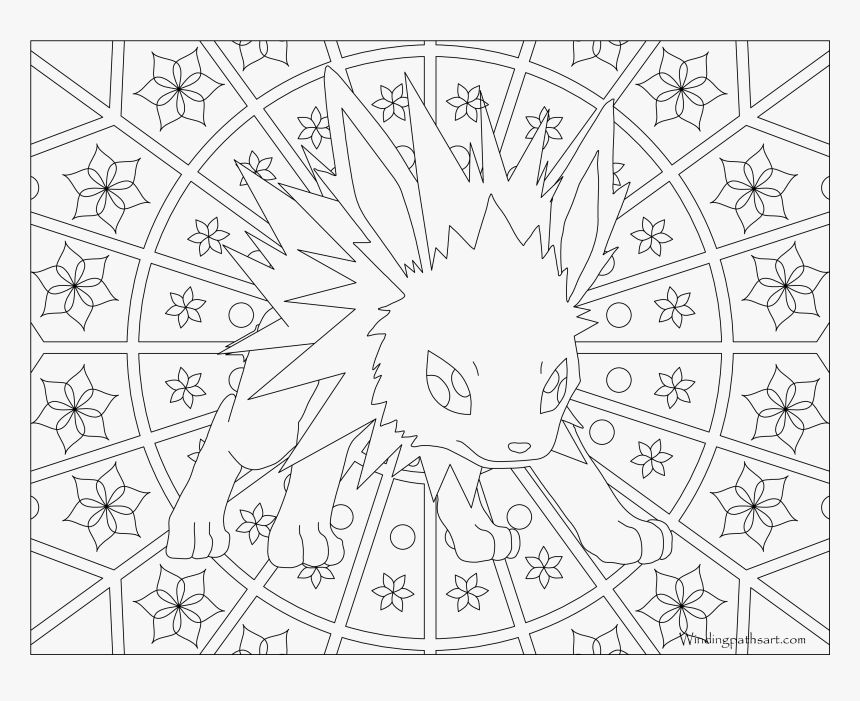 Transparent Pokeball Outline Png - Pokemon Coloring Pages Dragonite, Png Download, Free Download