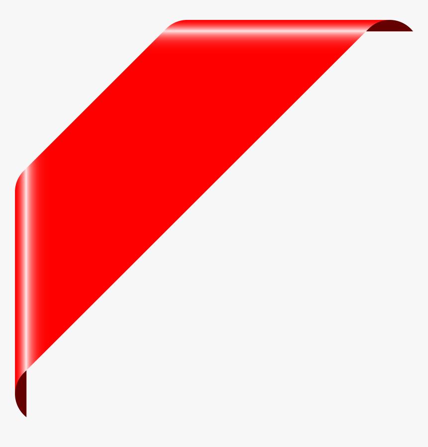 Ribbons Png Corner, Transparent Png, Free Download