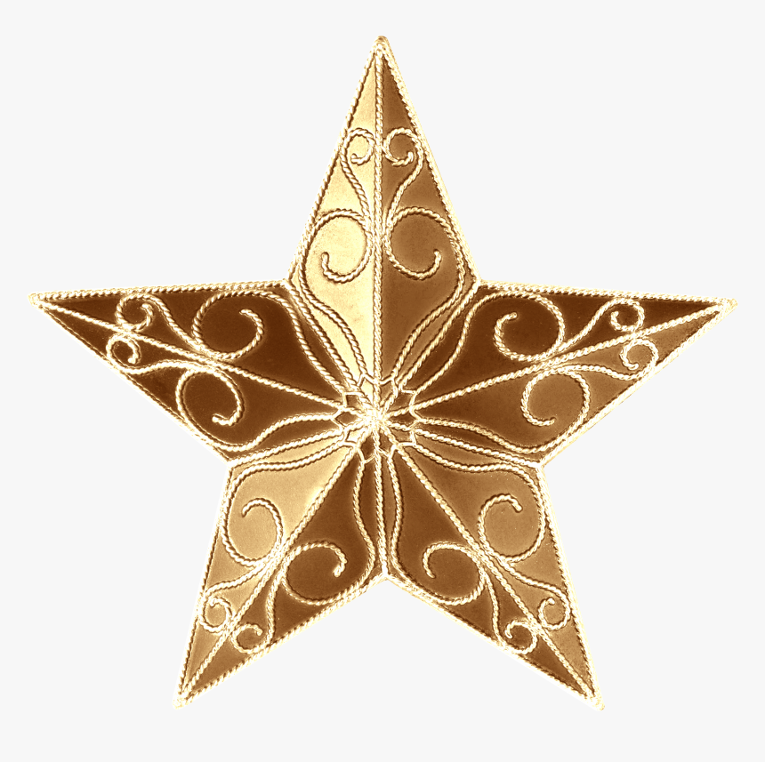 Transparent Bethlehem Star Clipart - Star In Christmas Tree, HD Png Download, Free Download