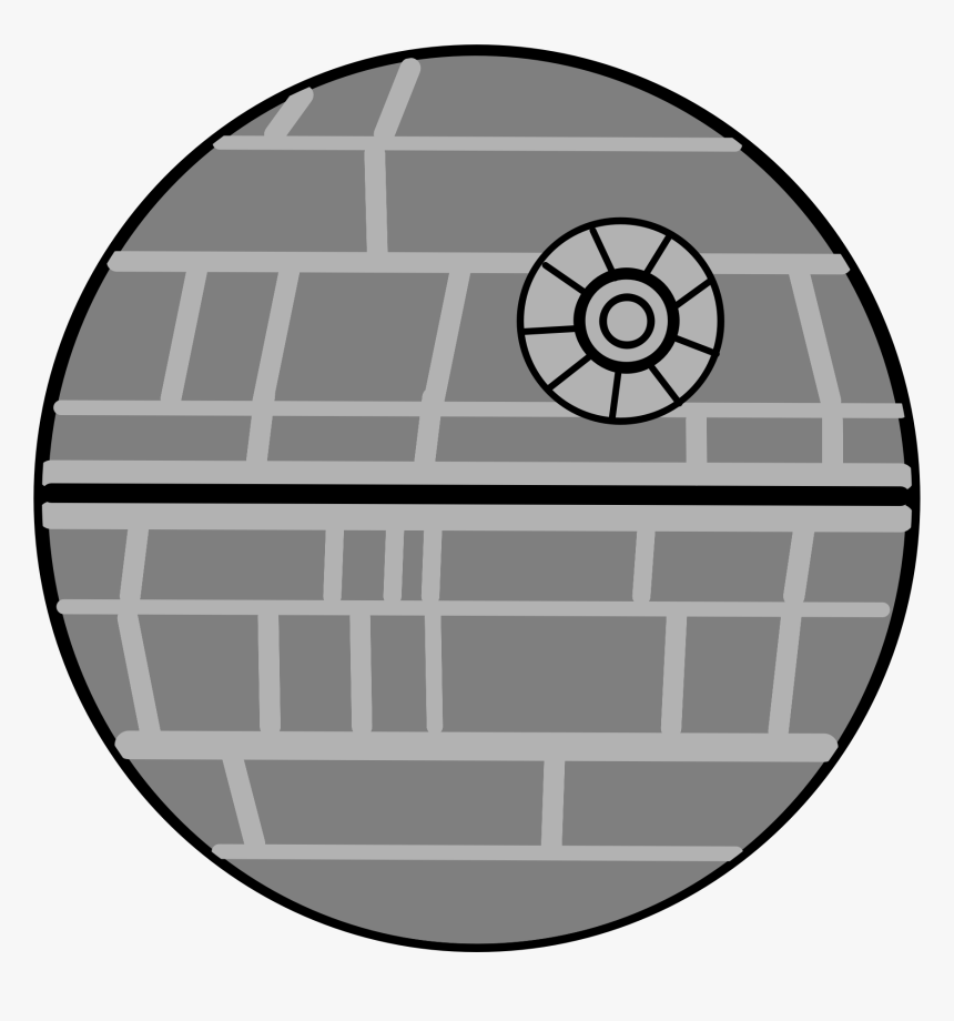 Death Star Png Transparent - Star Wars Death Star Cartoon, Png Download, Free Download