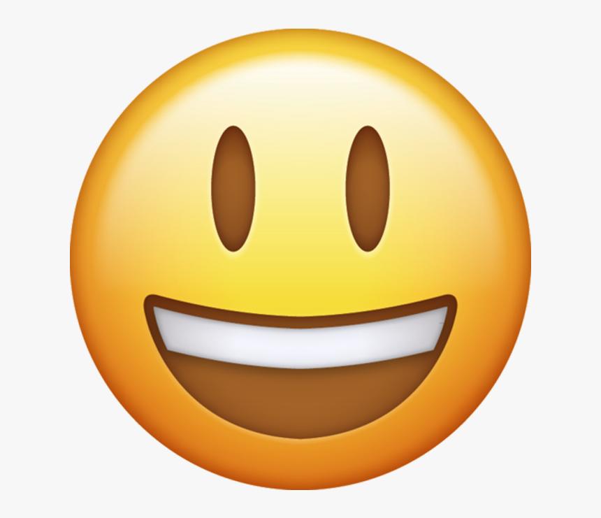 Whatsapp Single Emoji Png - Transparent Background Happy Emoji Png, Png Download, Free Download