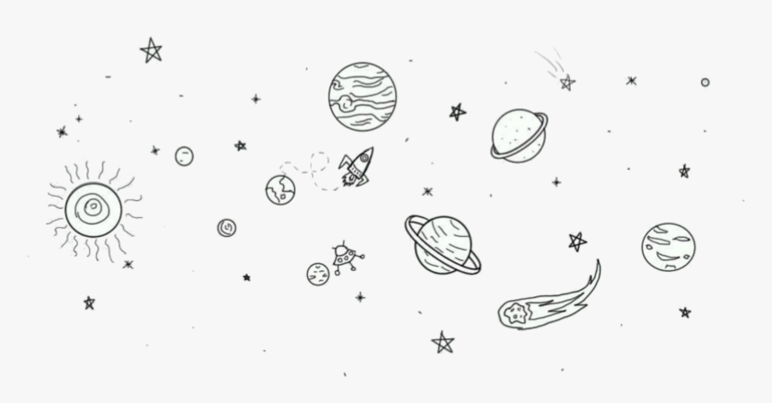 Clip Art Desenhos Tumblr Planetas Simple Space Tattoo Drawings