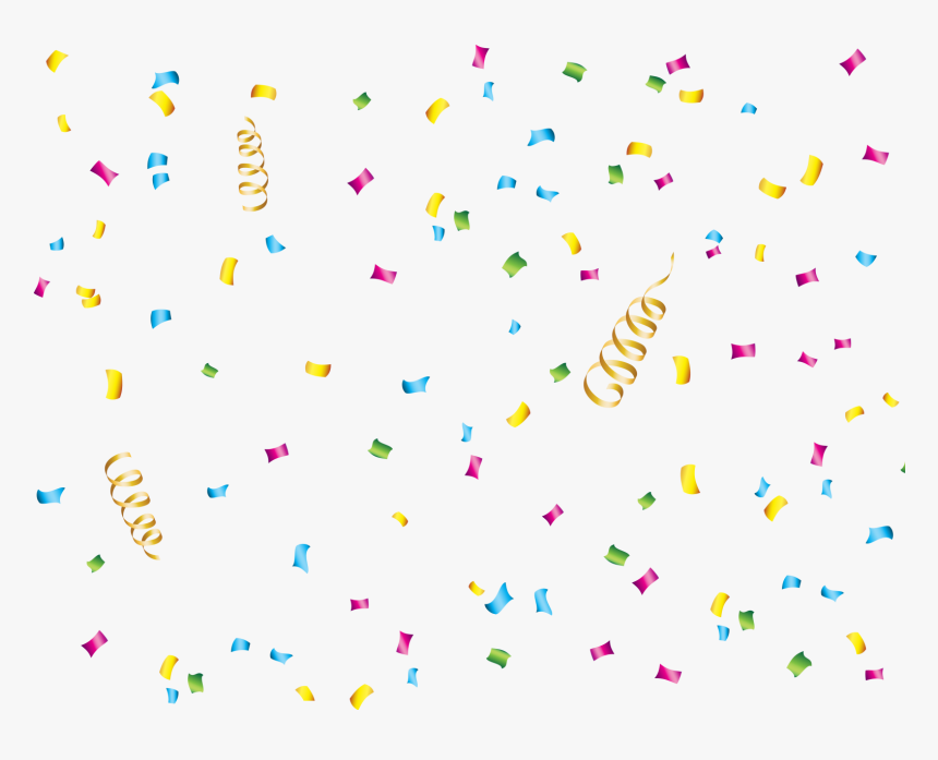 Transparent Blue Confetti Png - Transparent Background Heart Confetti Png, Png Download, Free Download