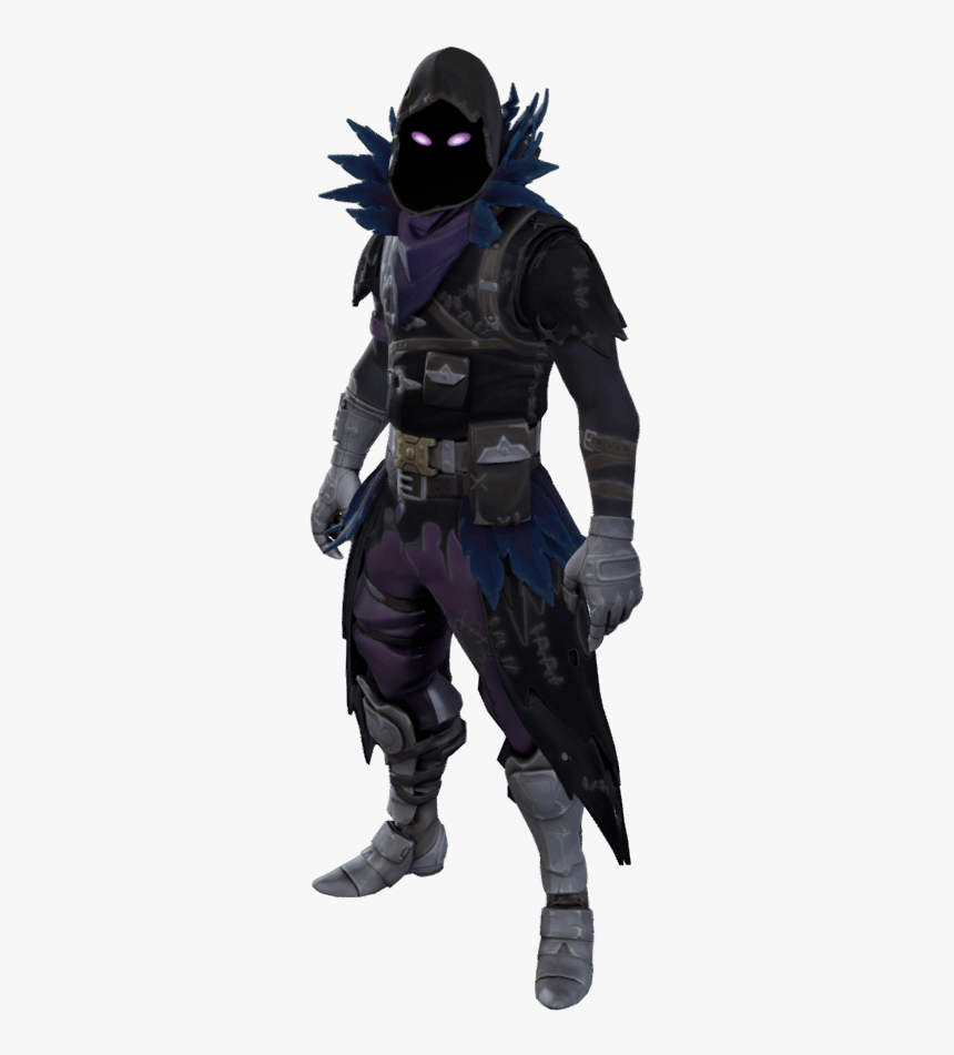 Raven Fortnite Png - Skin Fortnite No Background, Transparent Png, Free Download