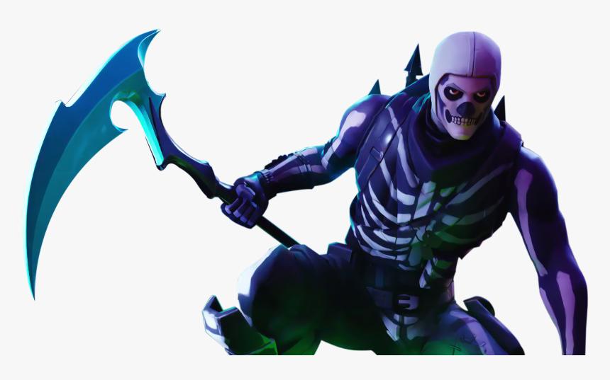 Transparent Fortnite Scar Png - Fortnite Skull Trooper Png, Png Download, Free Download