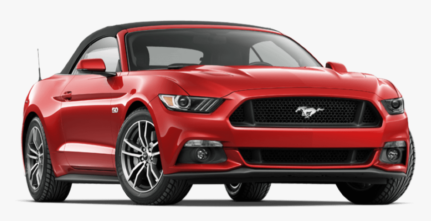 Car Rental With Sixt - 2017 Mustang V6 Convertible, HD Png Download, Free Download