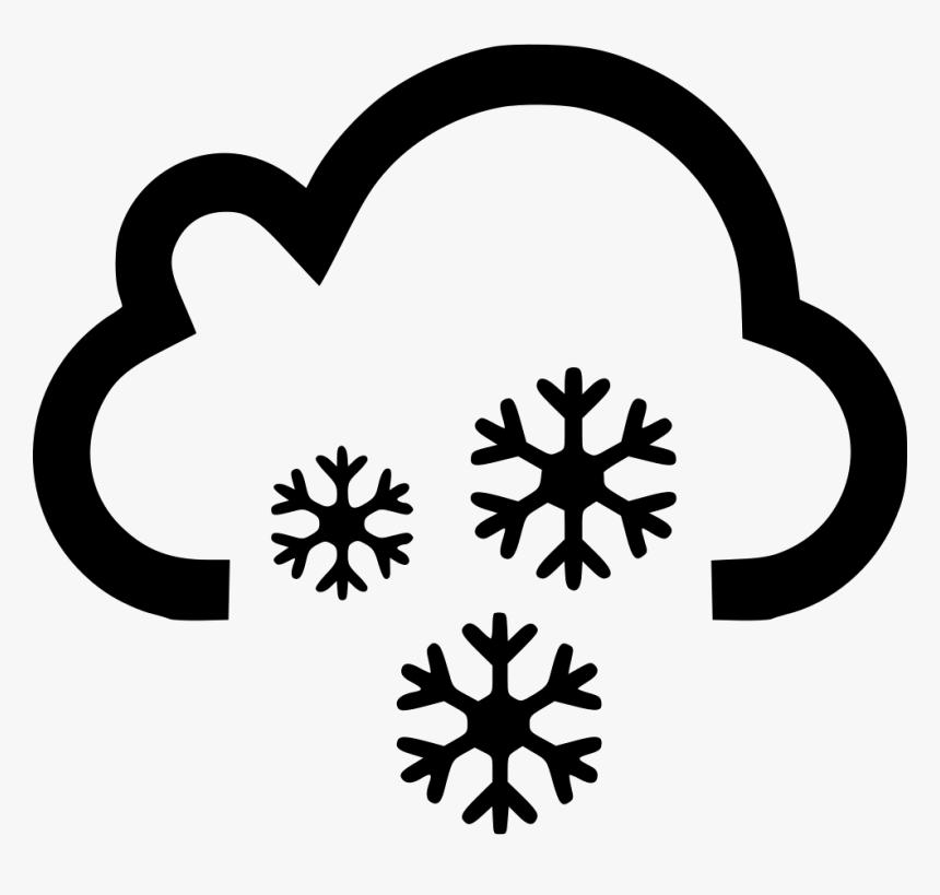 Cloud Snow Snowing Cloud Thunder Sun Png Transparent Png