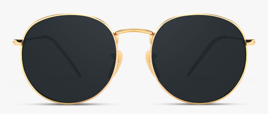 Round Sunglasses - Sunglasses, HD Png Download, Free Download