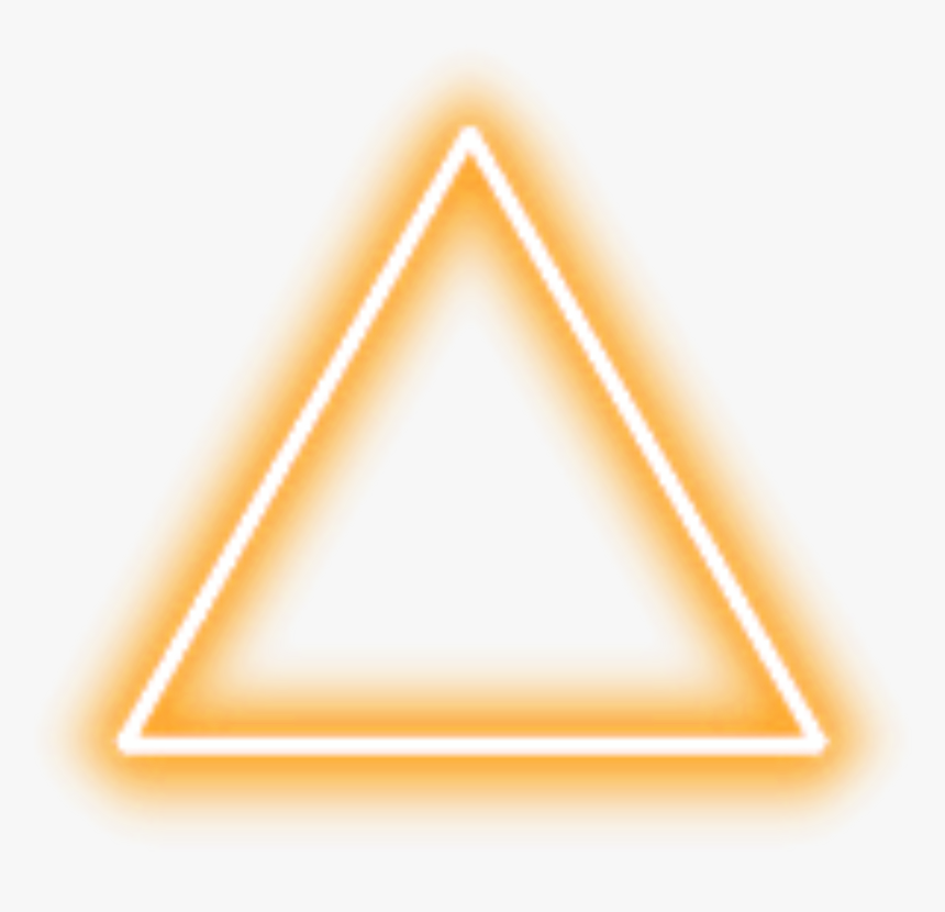 Transparent Yellow Triangle Png - Png Neon Lights, Png Download, Free Download