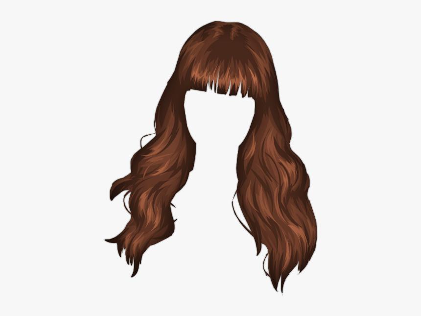 Cartoon Hair Png Anime Girl Hair Transparent Png Download Kindpng