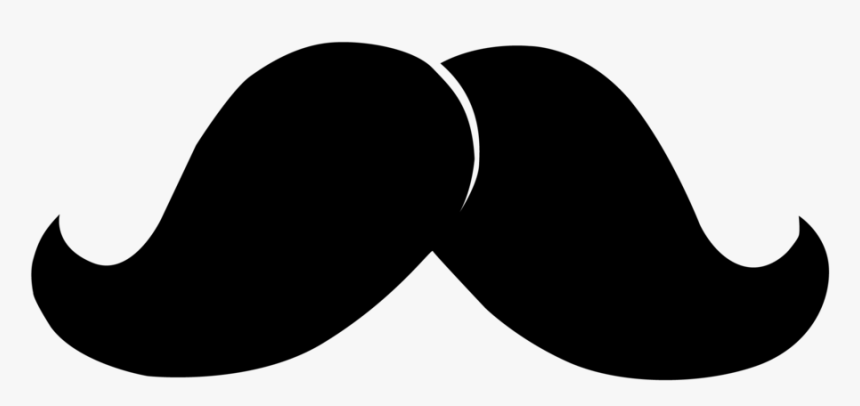 Deluxe Moustache By Thibaultmonneret On Clipart Library - Big Mustache Clipart, HD Png Download, Free Download