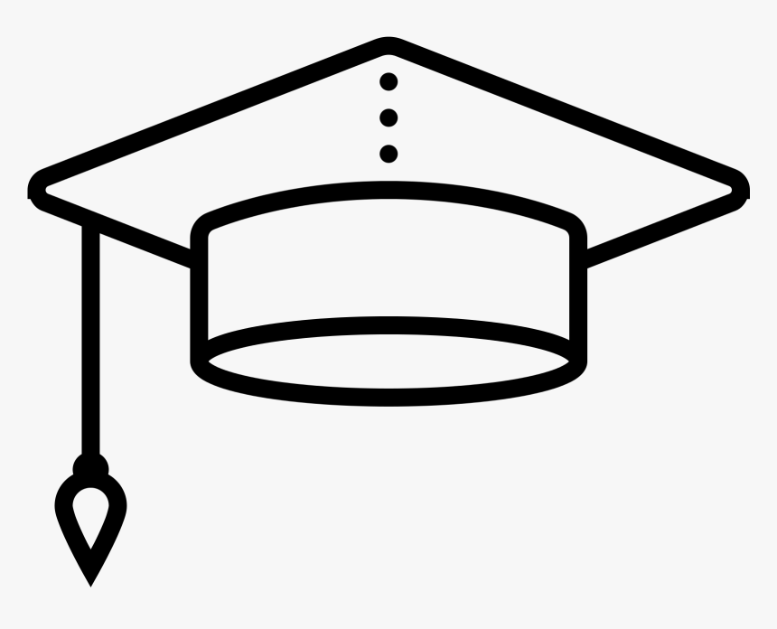 Graduation Cap Png Download - Icon, Transparent Png, Free Download