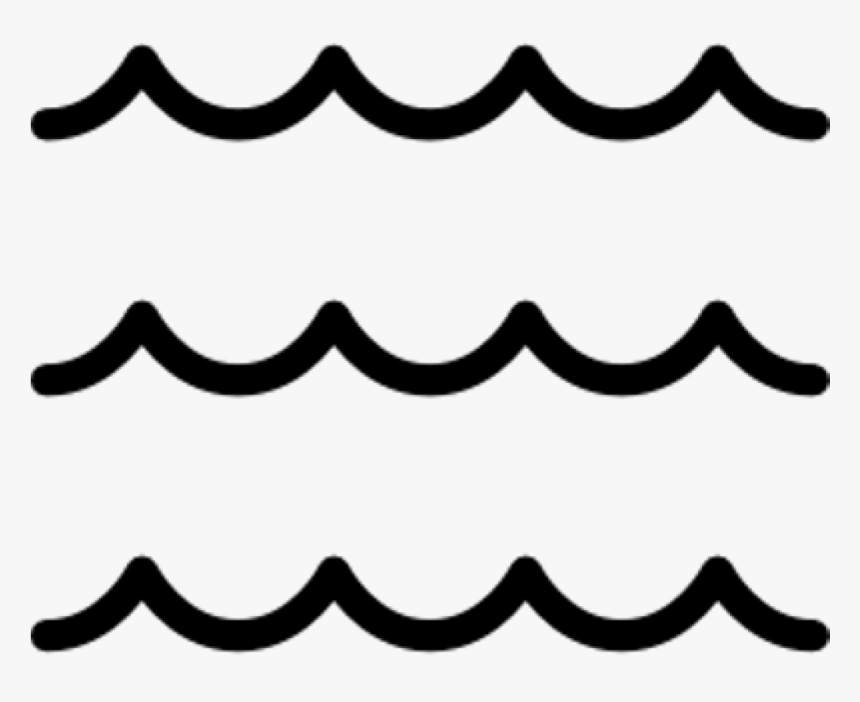 Jpg Freeuse Library Wave Happy Birthday Hatenylo - Sea Waves Black And White Clipart, HD Png Download, Free Download