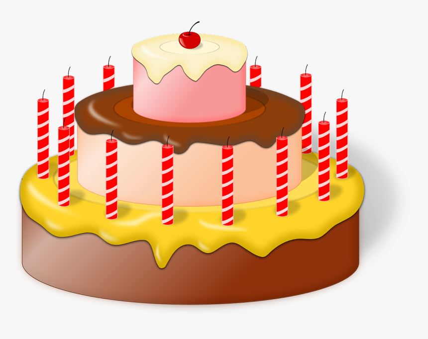 Cake Birthday Svg, HD Png Download, Free Download
