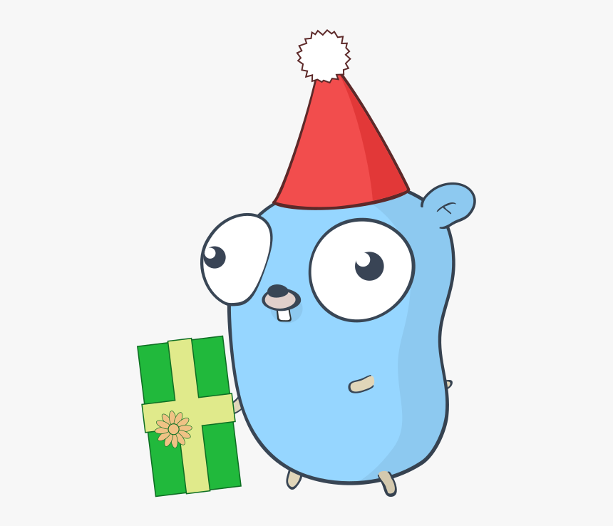 Golang Gopher Party, HD Png Download, Free Download