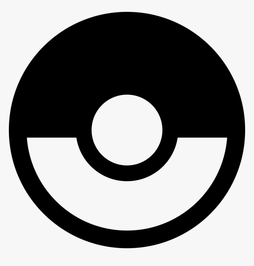 Pokeball - Smash Bros Pokemon Logo, HD Png Download - kindpng
