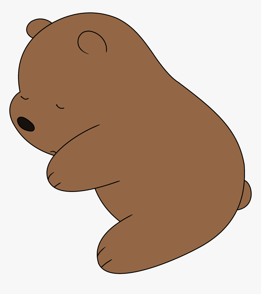 Grizzly Bear We Bare Bears Png, Transparent Png, Free Download