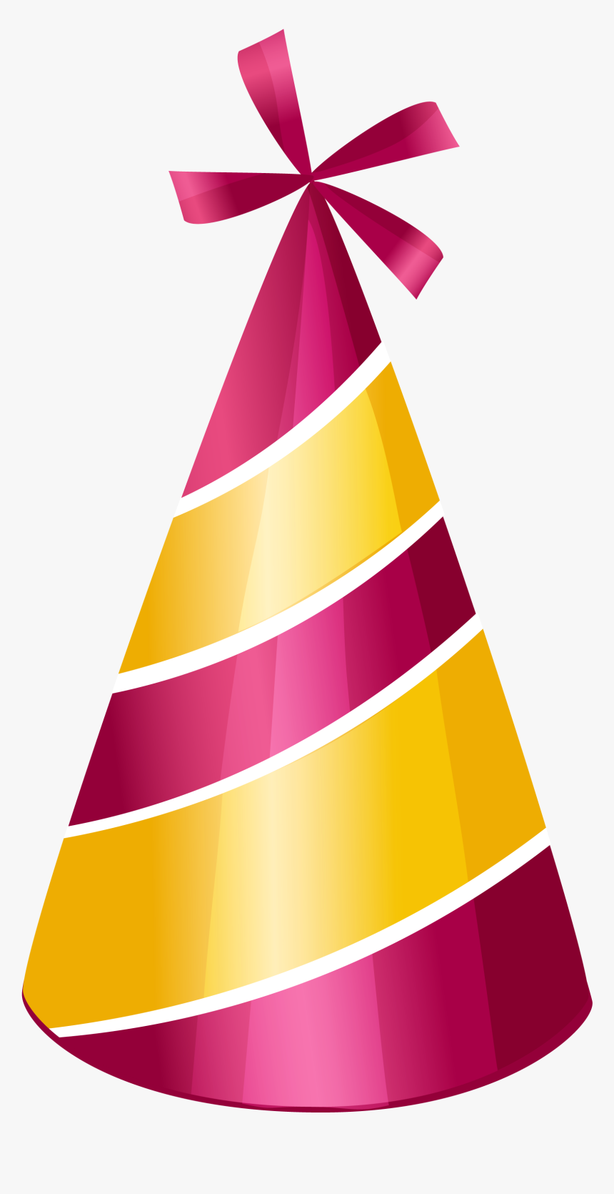 Birthday Hat Clipart Png - Party Hat Clipart Png, Transparent Png, Free Download