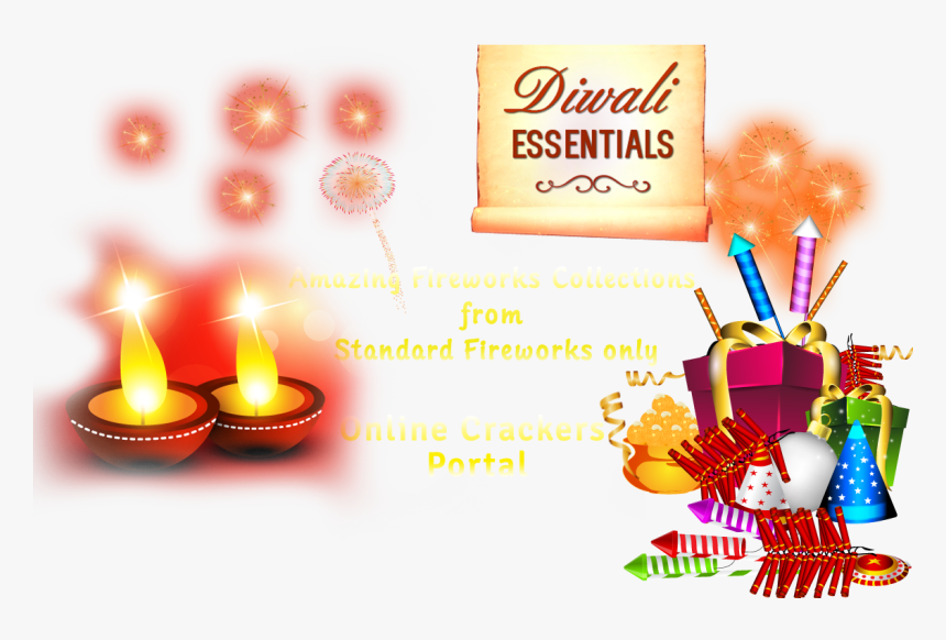Diwaali Crackers Online Fireworks - Diwali Crackers Png, Transparent Png, Free Download