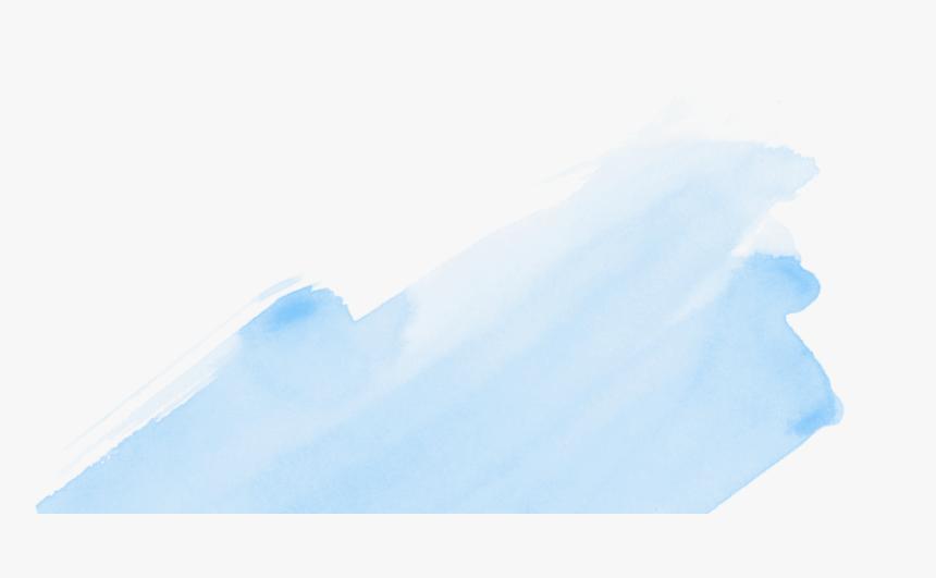 Paint Stroke Png Tumblr - Pale Blue Brush Stroke, Transparent Png, Free Download
