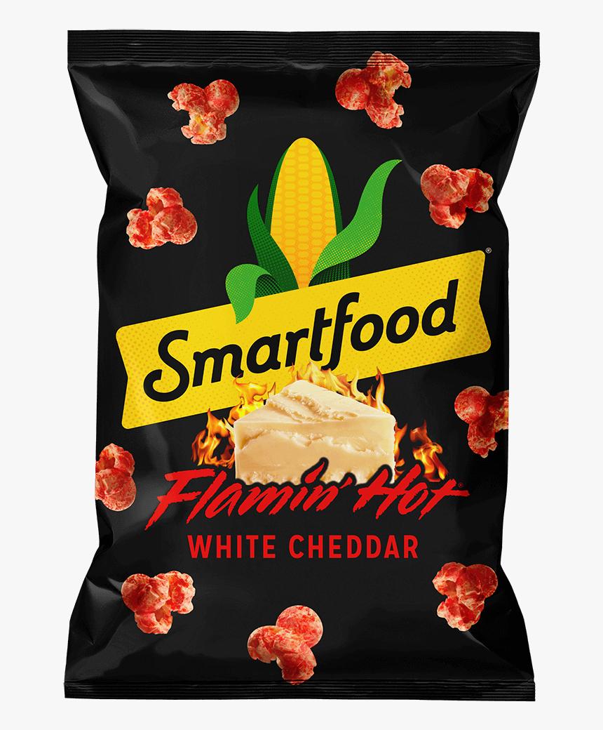 Smartfood® Flamin' Hot® White Cheddar Flavored Popcorn, HD Png Download, Free Download